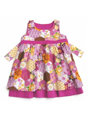 A Pink Fleur Reversible Dress (avail. 2yr - 4yrs) sale