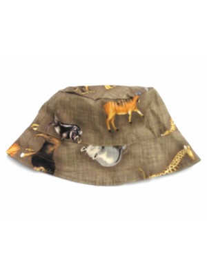 Safari Reversible Sun Hat (avail. 6m - 8yrs) sale