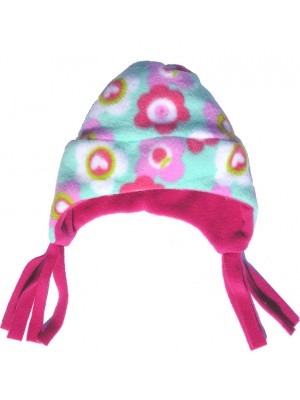 Duck Egg Floral Nordic Fleece Hat (avail. Baby, Small only) sale