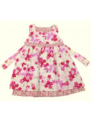 Lotus Dress (avail. 1-2yr & 2-3yrs only) sale