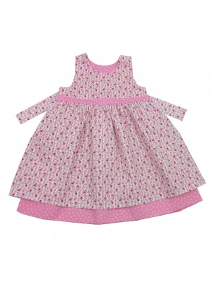 A Pink Gem Reversible Dress (avail. 2-3yrs only) sale