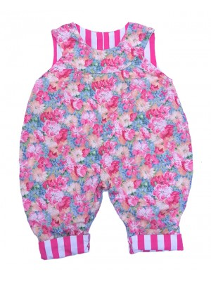 Candy dungarees (avail 6-12m only) sale