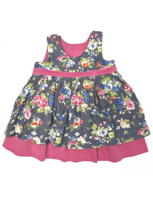 Charlotte Reversible Dress (6-12m 2-3 and 6-7yrs ) sale