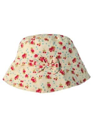Blue & Turquoise Floral Sun Hat (avail. 2-4yr only) sale