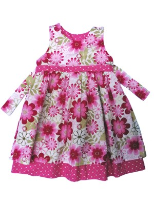 Lulu Reversible Dress (avail. 3-6m and 3-4yr ) sale