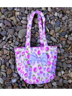Pink Strawberry Little Bag