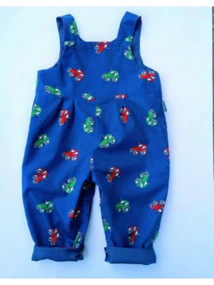 Tractor Reversible Dungarees (avail. 0 - 2yrs)