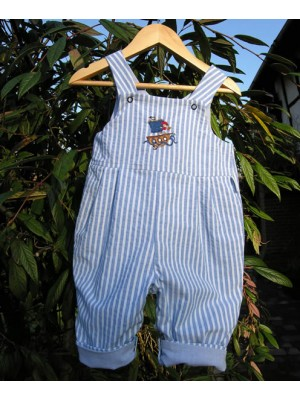 Blue Bay Reversible Dungarees (avail. 0 - 3yrs)