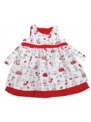 Belle Reversible Dress (avail. 3m - 8yrs)