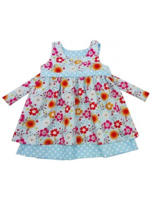 Forget-me-not Reversible Dress (avail. 3m - 8yrs)