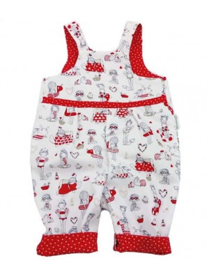 Belle Reversible Dungarees (avail. 0 - 4yrs)