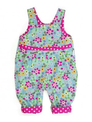 Faith Reversible Dungarees (avail. 0 - 3yrs)
