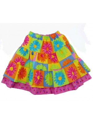 Sunflower Reversible Skirt (avail. 2yrs - 10yrs)