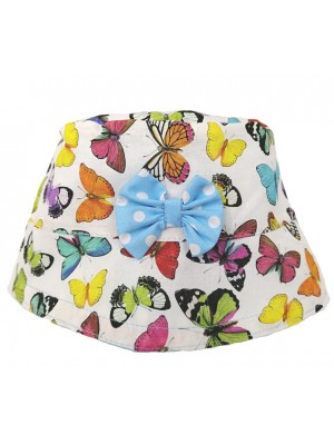 White Butterfly Sun Hat