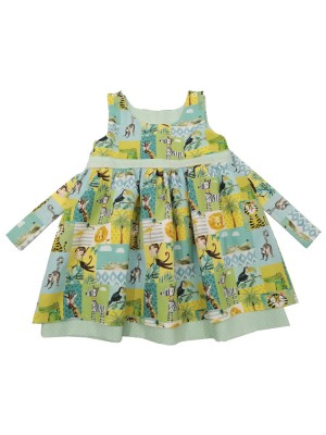 Jolly Jungle Reversible Dress (avail. 3m - 7yrs)