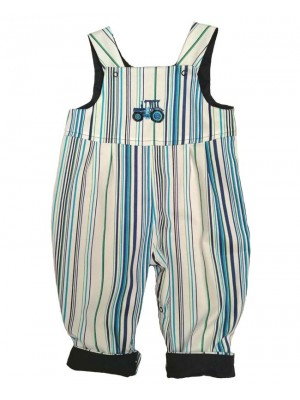 Marine Reversible Dungarees (avail. 0 - 4yrs)