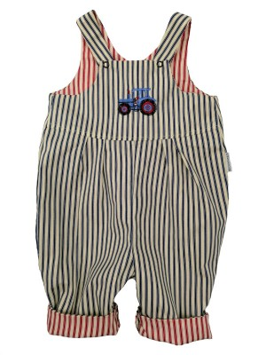 Charlie Reversible Dungarees (avail 0 - 4 yrs)