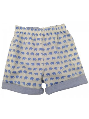 Pale Blue Edward Reversible Shorts (avail. 3m - 4yrs)