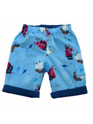On the Sea Cropped Trousers (avail. 6-12m & 2-4yrs only) Sale