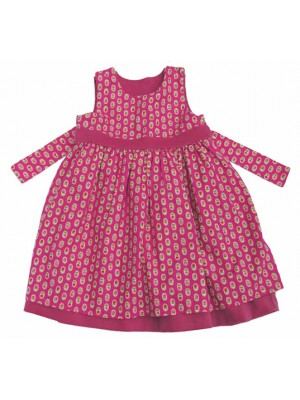 Mandy Reversible Pinafore Dress (avail. 3-6m only) sale
