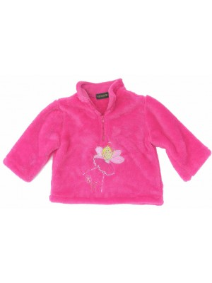 Cerise Fleece with Fairy Applique (avail. 6m- 8yrs)