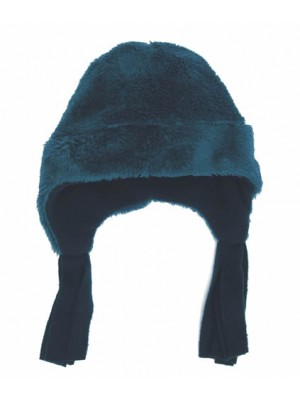 Navy Cuddle Fleece Nordic Hat