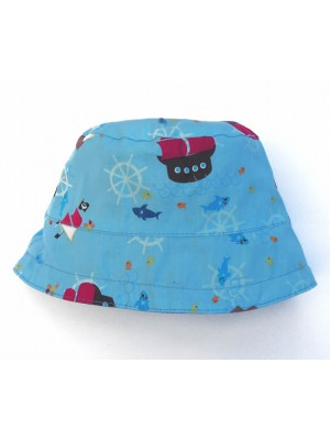 On The Sea Reversible Sun Hat (avail. 2 - 8yrs) sale