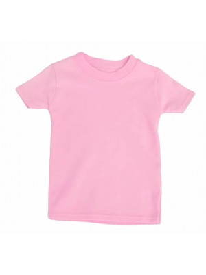 Short Sleeve Pale Pink T-Shirt (avail. 0 - 6yrs)