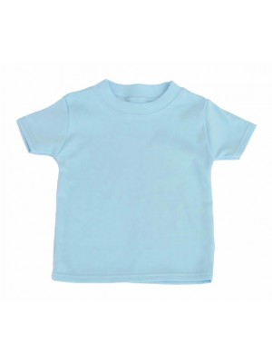 Short Sleeve Pale Blue T-Shirt (avail. 0 - 4yrs)