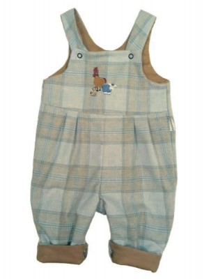 Morgan Reversible Dungarees (avail. 0 - 2yrs)
