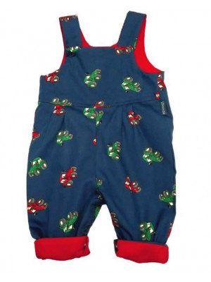 Tractor Reversible Dungarees (avail. 0-3yrs)
