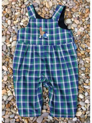 Kinross Reversible Dungarees (avail. 0 - 3yrs)