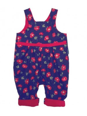 Isabelle Reversible Dungarees (avail. 3m - 3 yrs)