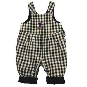 Benjamin Reversible Dungarees (avail. 0 - 3 yrs)
