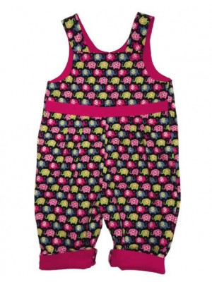 Erica Reversible Dungarees (avail. 0 - 3 yrs)