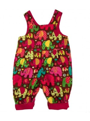 Nelly Reversible Cord Dungarees (avail. 0 - 3yrs)
