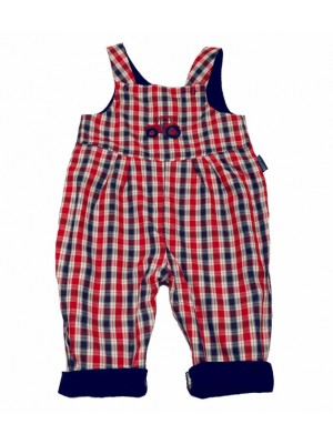 Sam Reversible Dungarees (avail 0 - 3 yrs)