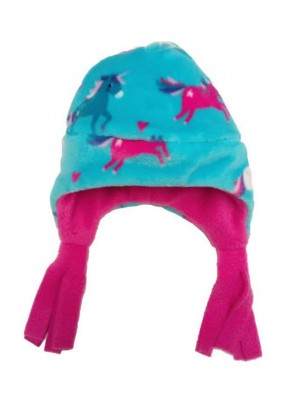 Unicorn Cuddle Fleece Nordic Hat