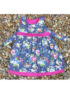 A Charlotte Reversible Pinafore Dress (avail. 3m - 8yrs)