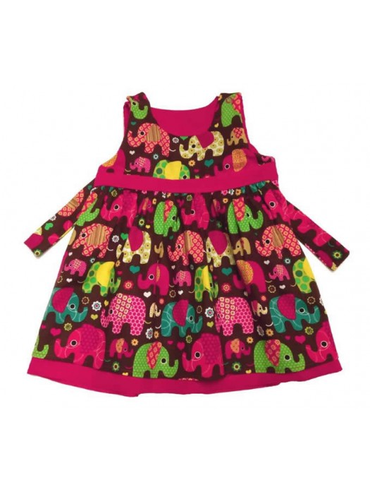 Nelly Reversible Cord Dress (avail. 3m - 3yrs)