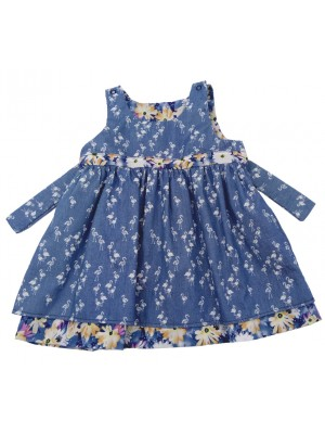 Sophia Flamingo Reversible Dress (avail. 3m - 8yrs)