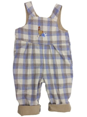 Logan Reversible Dungarees (avail. 0 - 3yr)