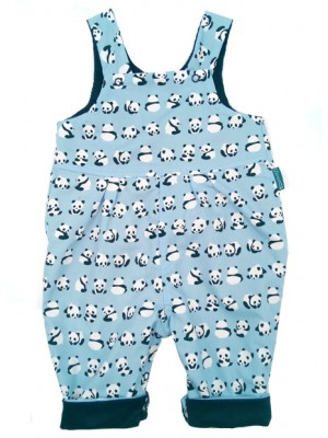 Panda Reversible Dungarees (avail. 0 - 2yrs)