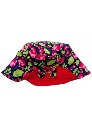 Ruby Bow Hat