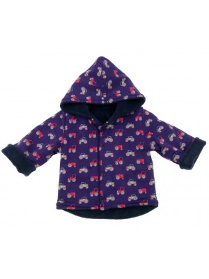 Tractor/Navy Fleece Jacket (avail. 3m - 4yrs)