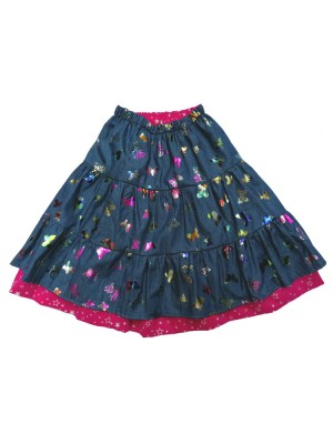 Sparkly Butterfly Skirt (avail. 1yr - 10yrs)